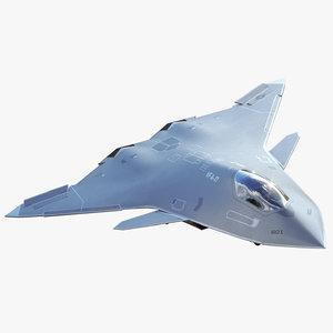 3D concept future f a-xx model