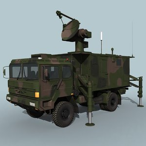 engagement radar hq-6 hq-64 3D model