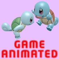 3D model pokemon squirtle poke