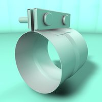 tube clamp 3D