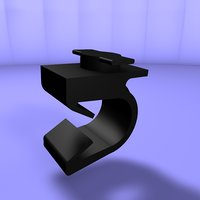 3D model twist lock