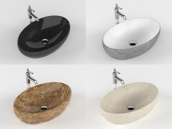 3D sink faucet bathroom