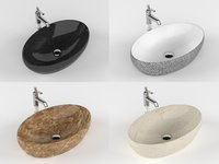 Bathroom Sink with Faucet