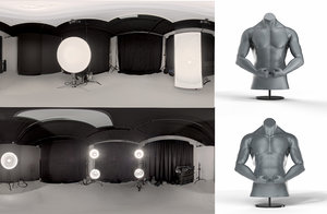 3 Light Standard and 5 Light Bare Reflector