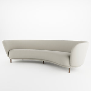 massproductions dandy sofa 3D model