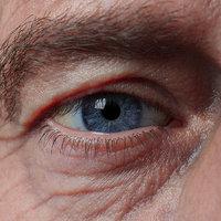 realistic human eye model
