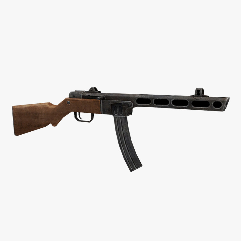 ppsh box magazine 3D model