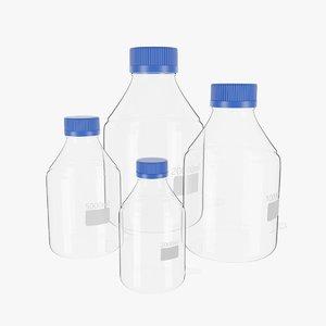 3D bottles blender