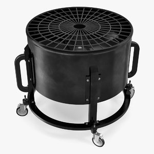 industrial floor fan model