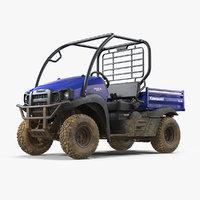 3D kawasaki mule 2019 sx model