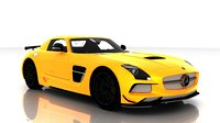 Mercedes Benz SLS AMG Black Edition