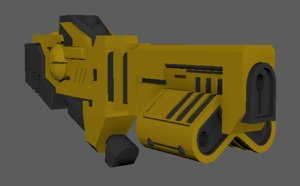 3D cylic ion blaster