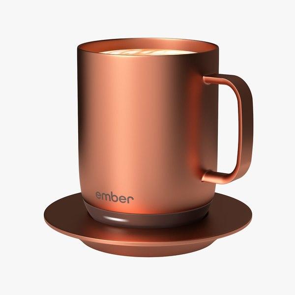 3D model 10oz copper ember temperature