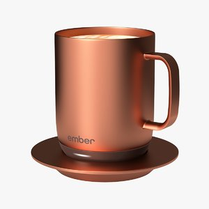 3D model 10oz copper ember temperature