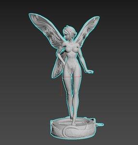 figure print 3D model