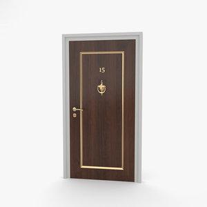 door entrance model