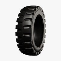 military tire 3D