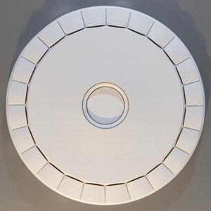 3D rosette: europlast 1 56