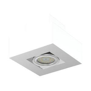 rectangular halogen light 3D