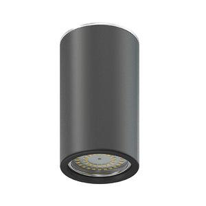 black cylindrical light model