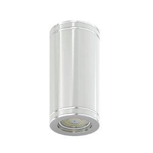 white cylindrical light 3D