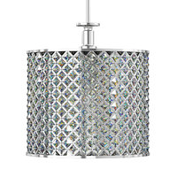crystal ceiling lamp 3D