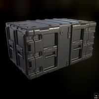 army crate box model
