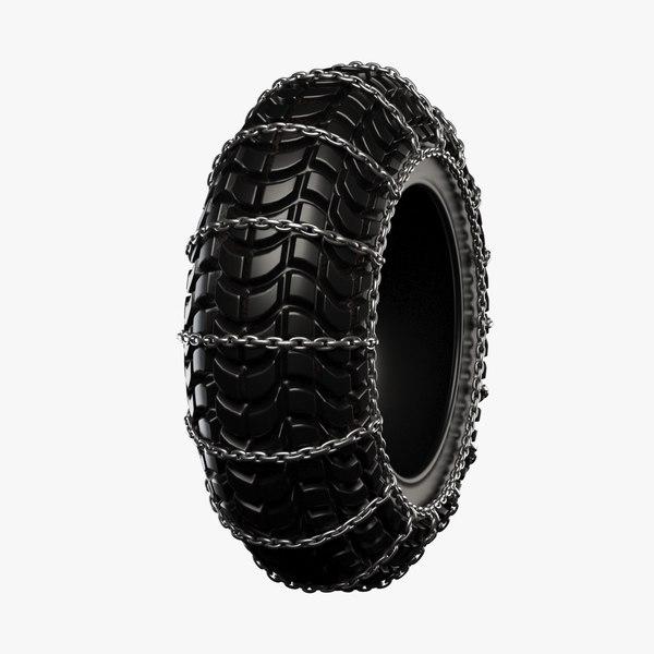 3D chain tire