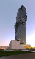 revit skyscraper 3D model