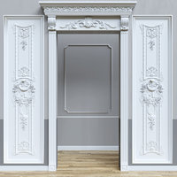 stucco wall 3D