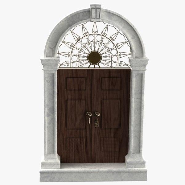 door style 3D model