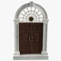door style 3D model