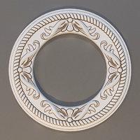 3D rosette: europlast 1 56 model