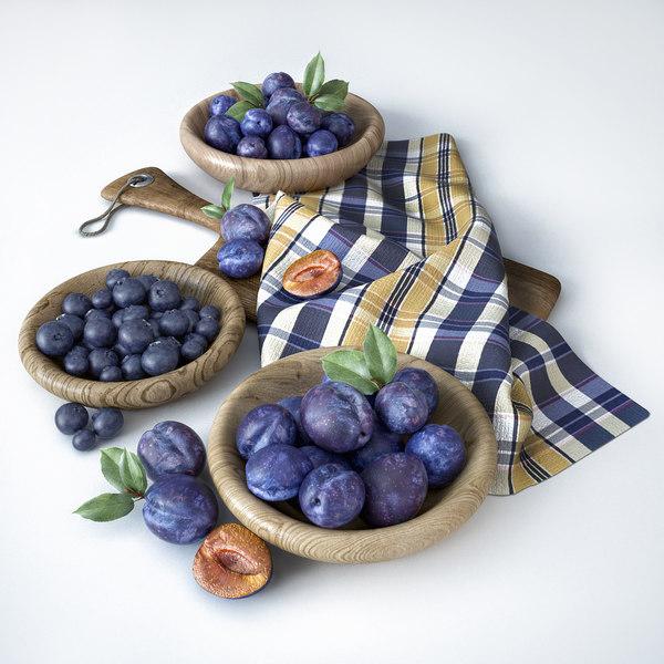 fruit composition 3D model