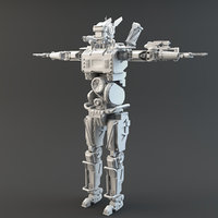 Chappie V2 Lowpoly