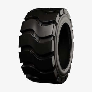 3D tractor tire
