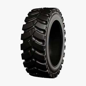 tractor tire 1 3D