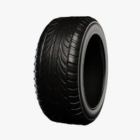 3D model tire games engines