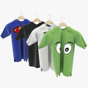 t-shirts shirt 3D model