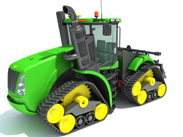 3D tractor power