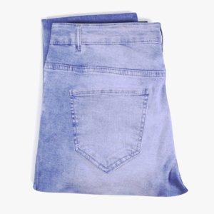 folded jeans 1 3D model
