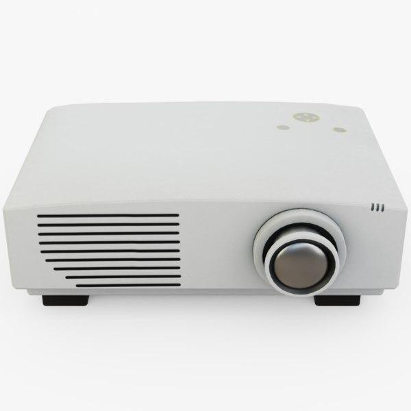 video projector 3D