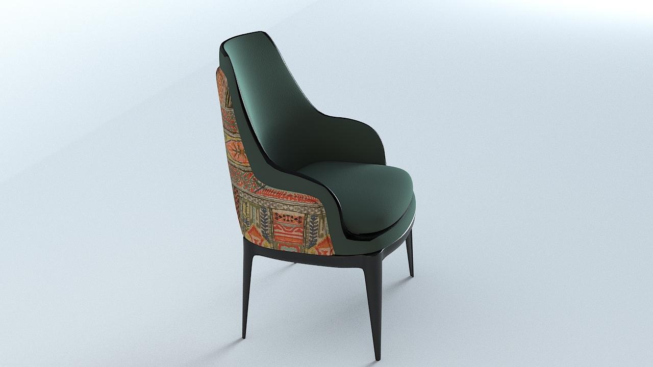 3D bentley kendal dining chair