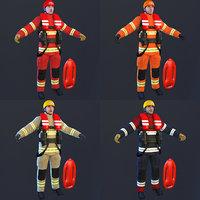 rescue 2019 3D model