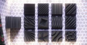 panels acoustic 1 pack 3D
