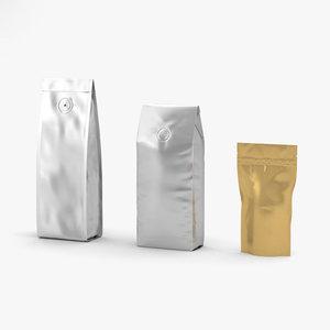 3D model espresso beverage coffee