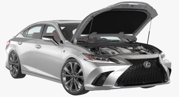 lexus es 2019 car model