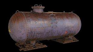 gas pbr 3D model