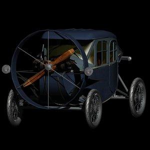 3D helica car vehicle