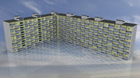 angular 12 storey soviet 3D model